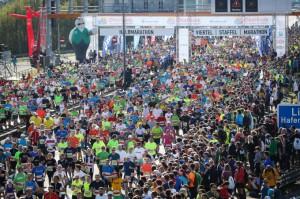 Beliebtester Citymarathon des Jahres 2017 in Österreich ist der Oberbank Linz Donau Marathon auf Platz 1 vor Salzburg, dem 3-Länder-Marathon und Wien. Foto: Linz / Oberbank