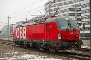 Und so sieht sie aus, das gute neue Stück der ÖBB Lok 1293 Vectron. Foto: ÖBB / Christian Zenger
