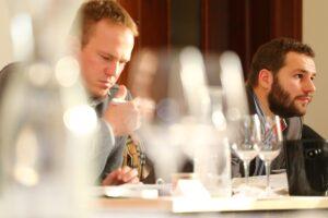 Advanced Course Prag - Szene aus dem Seminarraum. Foto: Weinakademie Österreich