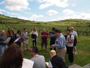 Praxisworkshop mit Michael Moosbrugger. Foto: Weinakademie Österreich