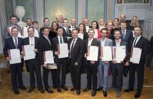 Graduierungsfeier 2017 im Schloss Esterházy in Eisenstadt. Foto: Weinakademie Österreich