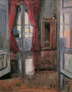 Interieur - Gemälde von Egon Schiele. Foto: Belvedere, Wien
