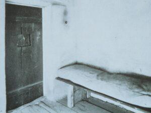 Die Gefängniszelle in Neulengbach anno 1963. Foto: Alessandra Comini