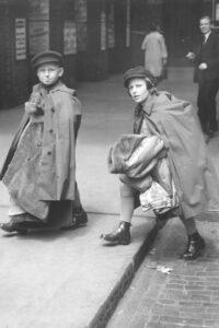 13. Juli 1939: Flüchtlingskinder aus Wien bei ihrer Ankunft in London. Foto: Bildagentur Keystone/ÖNB