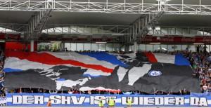 Vom SK VÖEST (1946 bis 1990), über den FC STAHL (1991 bis 1993) hin zum FC Blau Weiß Linz (seit 1997). Der Fußballsport in der Stahlstadt kennt auch noch etwas anderes als den ewigen Rivalen LASK. Und nun ist man offen und bereit für seine Mitglieder. Foto: Johann Schornsteiner, www.skv-neverforget.at