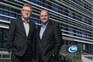 Harald Eder (links) und Gerhard Haidinger, die beiden Geschäftsführer der GIG FASSADEN GmbH. Foto: GIG FASSADEN GmbH