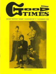 """Vor 27 Jahren ging es los. Cover der GoodTimes """"Null-Nummer"""" vom November 1991."""