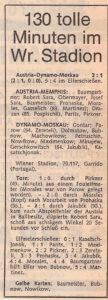 KURIER Faksimile 13. April 1978. Sammlung: oepb