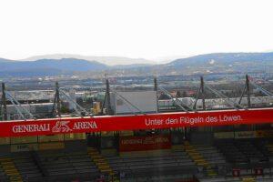 Die Generali Arena NEU ist nunmehr das zehnte Stadion, in dem der ÖFB in seiner Geschichte zu einem Heim-Länderspiel lädt. Foto: FK Austria Wien