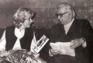 Elfriede Ott erinnert sich heute noch sehr lebhaft an die für sie wundervollen Jahre mit Hans Weigel. Foto: privat