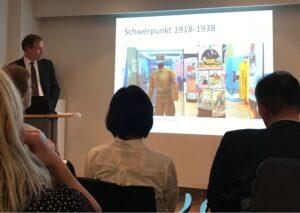 Vortrag im Österreichischen Kulturforum. Foto: Museum Niederösterreich