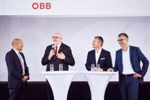 Der erste große Meilenstein ist erreicht: der Ausbau der Netzabdeckung entlang der S-Bahn-Strecken in Wien sowie der Weststrecke Wien-Salzburg. Schritt zwei erfolgt bis Mitte 2019. Foto: ÖBB / Marek Knopp
