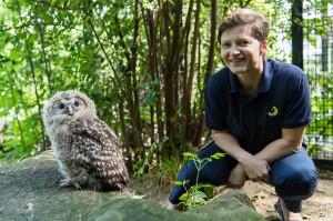 Regina Kramer, Kuratorin für Forschung und Artenschutz. Foto: Daniel Zupanc