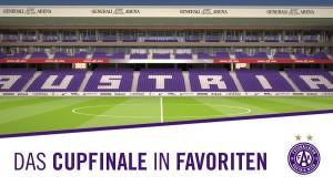 In punkto Stadion-Nutzung hat der FK Austria Wien gegenüber dem SK RAPID Wien glasklar die Derby-Nase vorne. Foto-Grafik: FK Austria Wien