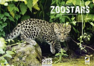 Titelseite Zoo Kalender 2019. Foto: Daniel Zupanc