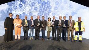 Die ÖBB feiern den Koralmtunnel-Durchschlag als neue neue und zügige Verbindung zwischen der Steiermark und Kärnten. Foto: ÖBB / Zenz
