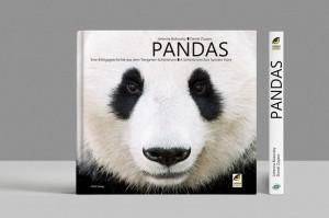 Buch-Cover PANDAS. So wird das Werk aussehen. Foto: Daniel Zupanc