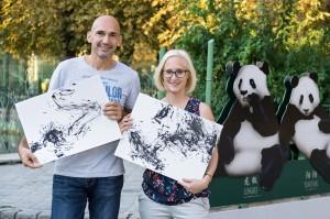 Das Buch ist ein wahres Herzensprojekt von Fotograf Daniel Zupanc und Tiergarten Wien-Pressesprecherin Johanna Bukovsky. Foto: Tiergarten Schönbrun