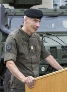 General Robert Brieger während der Festansprache. Foto: Bundesheer / Simader