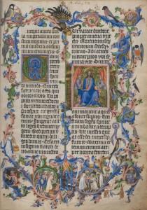 """Illustration aus der """"Goldenen Bulle"""". Foto: Österreichische Nationalbibliothek"""