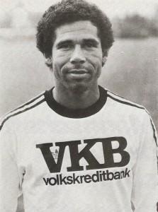 Helmut Köglberger, in Diensten des Linzer ASK, im Sommer 1979 am LASK-Platz in der Neuen Heimat. Foto: oepb