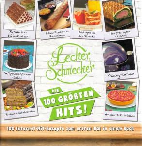 Leckerschmecker - 100 Internet-Hit-Rezepte zum ersten Mal in einem Buch. Scan: oepb