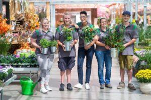 bellaflora begann als kleiner Gärtnerei-Betrieb und zählt heute 500 Mitarbeiter und 27 Niederlassungen. Foto: bellaflora / Pflügl
