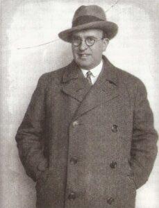 Fritz Löhner, Anfang der 1930er Jahre. Bildquelle: Kein Land des Lächelns / Scan oepb