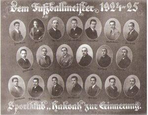 Fritz Löhner-Beda war als Gründungsmitglied beim ruhmreichen Aufstieg von Hakoah Wien von Anfang an dabei. Bildquelle: Kein Land des Lächelns / Scan oepb