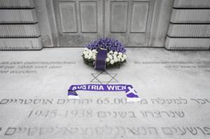 FAK-Besuch des Mahnmals für die österreichischen jüdischen Opfer der Schoah in Wien. Foto: Bildagentur Zolles