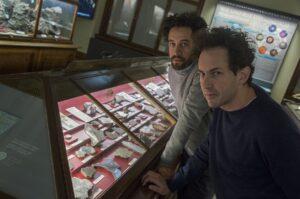 Guillermo Faivovich (links) und Nicolás Goldberg. Foto: NHM Wien, Kurt Kracher
