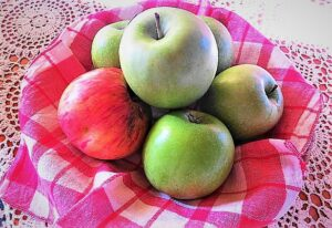 """""""An apple a day keeps the doctor away!"""" Wer täglich einen Apfel isst, benötigt keinen Onkel Doktor, so ein volksmundiger Ausspruch. Die Ernte 2018 fiel überaus üppig und reichhaltig aus. Foto: oepb"""