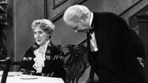 Dinner For One - seid Silveter 1972 ein fester Bestandteil im TV.