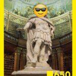 Jubiläumsdesign 650 Jahre Österreichische Nationalbibliothek. Foto: Österreichische Nationalbibliothek/Hloch, Jubiläumsdesign: KTHE