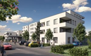 BAU & Boden Projekt Gmunden / Mühlwangstraße. Grafik BAU & BODEN