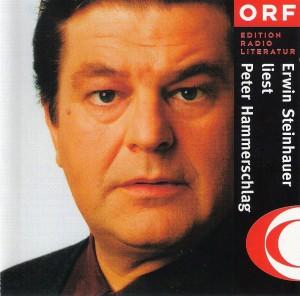 ORF CD-Cover Erwin Steinhauer liest Peter Hammerschlag. Scan: oepb