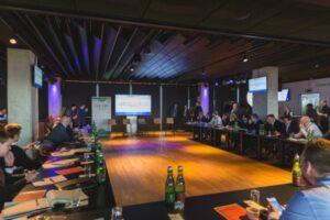 Nach Turin, London und New York machte das Club Management Programm der European Club Association nun in Wien bei der Austria Station. Foto: FAK