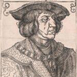 Holzschnitt von Albrecht Dürer anlässlich des Todes Maximilians 1519. Foto: Österreichische Nationalbibliothek