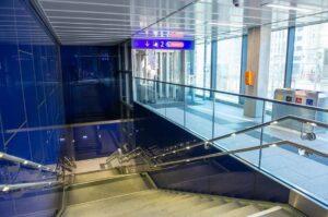 ÖBB Hauptbahnhof Wien  Aufgang. Foto: ÖBB / Zenger