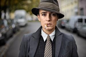Mercedes Echerer (Die Shoa, 17. Oktober 2019). Foto: Hagen Schnauss