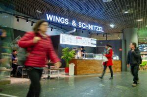 ÖBB Hauptbahnhof Wien  Wings & Schnitzel. Foto: ÖBB / Zenger