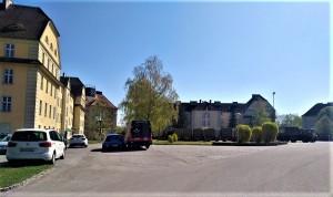 """Die """"Freiherr von Birago Pionier-Kaserne"""" dient heute noch - 2019 - den Melker Pionieren. Und das seit über 100 Jahren. Foto: oepb"""