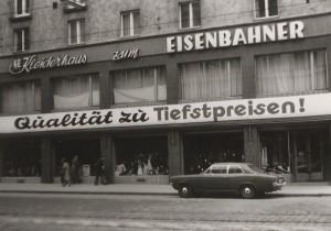 Klosterneuburger Straße, Wien, 1970er-Jahre. Foto: Christian Fuchs, mit freundlicher Genehmigung von Renate Fuchs