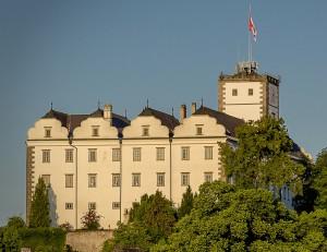 Blick auf Schloss Weitra. Foto: Sabine Preißl