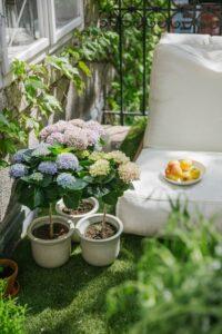 nspiration für den Balkon gibt es in den 27 Filialen von bellaflora. Foto: Marion Vicenta Payr / @ladyvenom / Buero de Martin