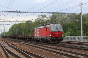 Die neue Verbindung verstärkt das Bahnlogistikangebot für alle Industriegüter. Foto: ÖBB-RCG / Winkler