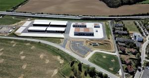 Blick auf den Erweiterungsbau der Kaserne Melk. Foto PiB3 Archiv