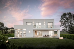 Blick auf ein Griffner Haus. Foto: Griffnerhaus