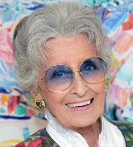 Lotte Tobisch im Portrait. Foto: Michael Fritthum