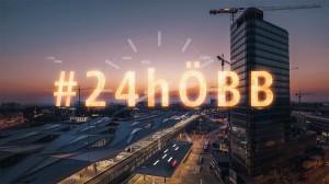 Die ÖBB sind ein interessantes Unternehmen mit abwechslungsreichen Jobfeldern. Davon kann man sich jetzt live überzeugen: Unter #24hÖBB lässt der Konzern von Donnerstag, 6. bis Freitag, 7. Juni 2019 die Öffentlichkeit auf Twitter 24 Stunden an der Arbeit teilhaben. Foto: ÖBB / Wegscheider